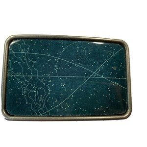 Celestial Belt Buckle NEW Astrology Stars Space